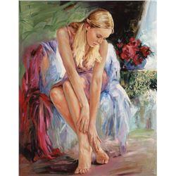 "Igor Semeko- Original Giclee on Canvas ""Bella"""