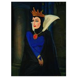 """Jim Salvati, """"Evil Queen"""" Limited Edition Giclee on Canvas from Disney Fine Art, Numbered and Hand S"""