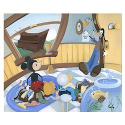 "Katie Kelly, ""Moving Day"" Limited Edition Giclee on Canvas, Licensed by Disney Fine Art, Numbered an"