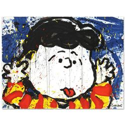 """No Apologies"" Limited Edition Hand Pulled Original Lithograph by Renowned Charles Schulz Protege, T"