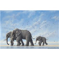"Robert Bissell ""Voyagers"" Giclee on Canvas"