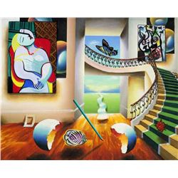 "Ferjo ""DREAMING"" Giclee on Canvas"