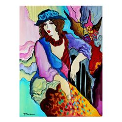 "Patricia Govezensky- Original Watercolor ""Adriana"""
