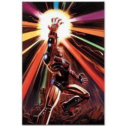 """Marvel Comics """"Avengers #12"""" Numbered Limited Edition Giclee on Canvas by John Romita Jr.; Includes"""