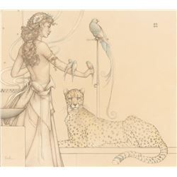 "Michael Parkes ""Quetzal"" Masterworks on Vellum"