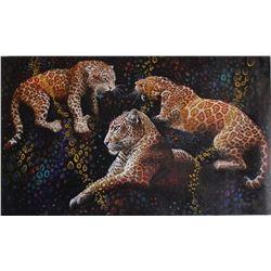 "Vera V. Goncharenko- Original Oil on Canvas ""Ready to Hunt"""