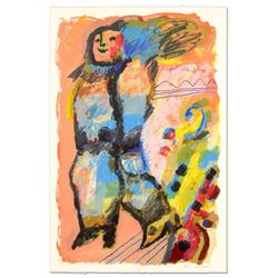 """Theo Tobiasse (1927-2012), """"L'enfant et les Violons"""" Limited Edition Lithograph, Numbered 167/310 an"""