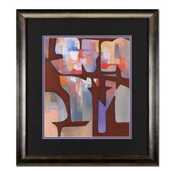 Neal Doty (1941-2016), Framed Original Acrylic Painting on Canvas, Hand Signed with Certificate of A