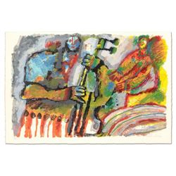 """Theo Tobiasse (1927-2012), """"Gerenade por une Mouse"""" Limited Edition Lithograph, Numbered 307/310 and"""