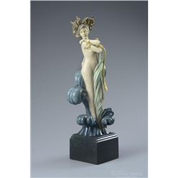 """Michael Parkes """"Venus"""" Bronze Sculptures"""
