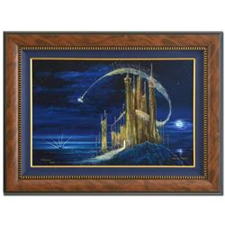 """Peter (1913-2007) and Harrison Ellenshaw, """"Gold Castle"""" Framed Limited Edition Giclee on Canvas 36"""""""