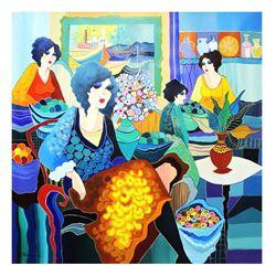 "Patricia Govezensky- Original Acrylic on Canvas ""The New Life I Have Found"""