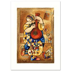 """Dorit Levi - """"Banjo Song"""" Limited Edition Serigraph, Numbered and Hand Signed with Certificate of Au"""