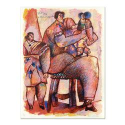 """Theo Tobiasse (1927-2012), """"Enfant Venus Du Palais De La Memoire"""" Limited Edition Lithograph, Number"""