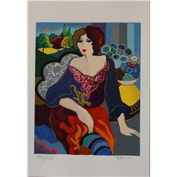 "Patricia Govezensky- Original Serigraph on Paper ""Margo"""