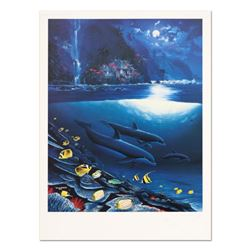 """Paradise"" Limited Edition Lithograph by Wyland and Jim Warren, Numbered and Hand Signed with Certif"
