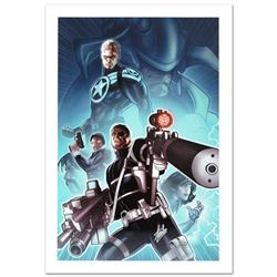 """Secret Warriors #8"" Limited Edition Giclee on Canvas by Paul Renaud and Marvel Comics. Numbered and"