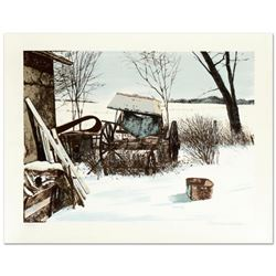 "William Nelson, ""Stored for the Winter"" Limited Edition Lithograph, Numbered and Hand Signed by the"