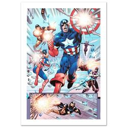 """Last Hero Standing #1"" Limited Edition Giclee on Canvas by Patrick Olliffe and Marvel Comics. Numbe"