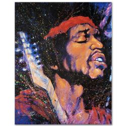 """Purple Haze"" Limited Edition Giclee on Canvas by Stephen Fishwick, Numbered and Signed with Certifi"