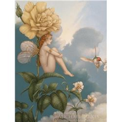 "Michael Parkes ""Shade of the Rose"" Masterworks on Canvas"