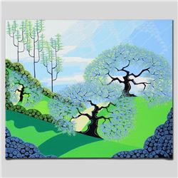 """Spring"" Limited Edition Giclee on Canvas by Larissa Holt, Protege of Acclaimed Artist Eyvind Earle,"