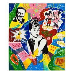 "Nastya Rovenskaya- Original Oil on Canvas ""High Style"""