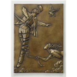 "Michael Parkes ""Unwinding"" Bronze Sculptures"