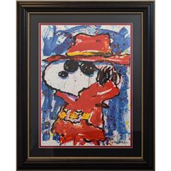 "Tom Everhart- Lithograph ""Undercover in Beverly Hills"""