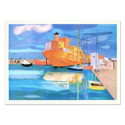 "Georges Lambert (1919-1998), ""Brest"" Limited Edition Lithograph, Numbered and Hand Signed."