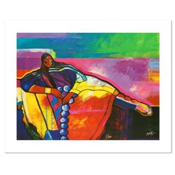 """""""Plains Princess"""" is a Limited Edition Giclee on Canvas by John Nieto, Numbered 1/500 and Hand Signe"""