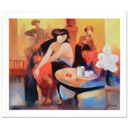 """""""Sweet Serenade"""" Limited Edition Giclee on Canvas by Yunessi Gholam, Numbered Inverso and Hand Signe"""
