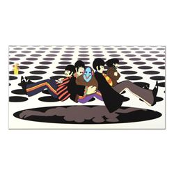 """The Beatles - """"Bound for the Sea of Holes"""" Limited Edition on Gallery Wrapped Canvas, Numbered with"""