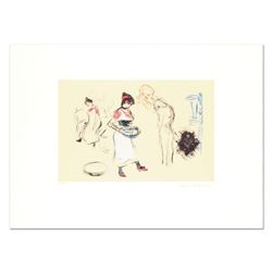 "Pablo Picasso (1881-1973) - ""Etude de Personnages"" Original Lithograph, Limited to 500 Pieces and Ha"