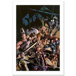 """""""Dark Avengers #10"""" Limited Edition Giclee on Canvas by Mike Deodato Jr. and Marvel Comics. Numbered"""