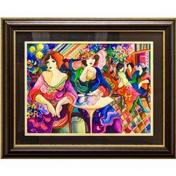 "Patricia Govezensky- Original Watercolor ""Never Listen"""