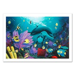 """""""Sea of Light"""" Limited Edition Giclee on Canvas (36"""" x 24"""") by renowned artist WYLAND, Numbered and"""