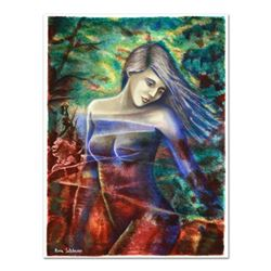 """Rina Sutzkever - """"Captivating Beauty"""" Limited Edition Serigraph, Numbered and Hand Signed with Certi"""