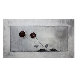 "Alexander Borewko- Original Acrylic on Canvas ""Grown Flowers"""