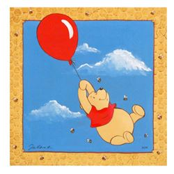 """Tricia Buchanan-Benson, """"Blustery Day"""" Limited Edition Giclee on Canvas, Licensed by Disney Fine Art"""