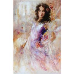 "Gary Benfield ""Alana"" Giclee on Canvas"