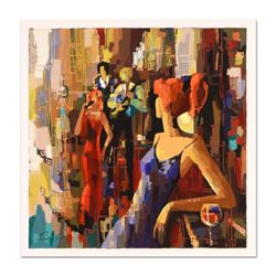 """Nelly Panto - """"Waiting for You"""" Limited Edition Serigraph, Numbered and Hand Signed with Certificate"""