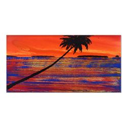 """Wyland, """"Paradise Found #15"""" Original Oil Painting on Canvas, Hand Signed with Certificate of Authen"""