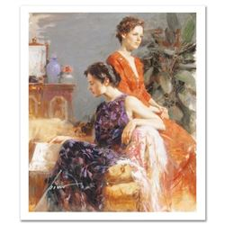 """Pino (1939-2010) """"Lazy Afternoon"""" Limited Edition Giclee. Numbered and Hand Signed; Certificate of A"""