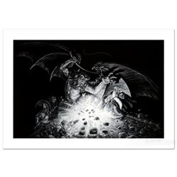 """""""Gandalf Versus Balrog"""" Limited Edition Giclee by Greg Hildebrandt. Numbered and Hand Signed by the"""