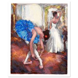 """Hedva Ferenci - """"Blue Dancer"""" Limited Edition Serigraph, Numbered and Hand Signed with Certificate o"""