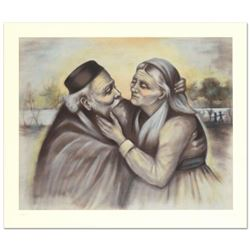 Rhoda Shapiro,  First Love  Limited Edition Lithograph, Numbered and Hand Signed by the Artist.