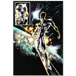 """Marvel Comics """"Silver Surfer: In Thy Name #4"""" Numbered Limited Edition Giclee on Canvas by Tan Eng H"""