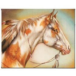 """""""Dreamer Horse"""" Limited Edition Giclee on Canvas by Martin Katon, Numbered and Hand Signed with Cert"""