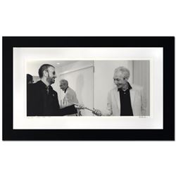 """Ringo Starr & Charlie Watts"" Limited Edition Giclee by Rob Shanahan, Numbered and Hand Signed with"